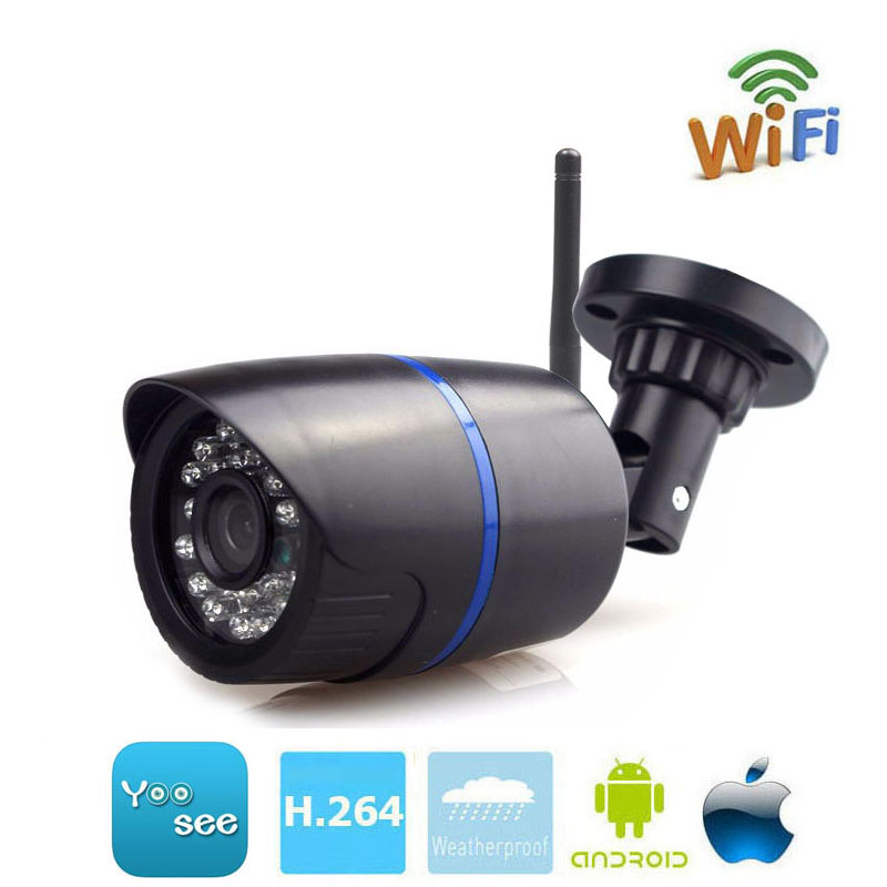 MseeAD Yoosee IP Camera Wifi 1080P 960P 720P ONVIF Wireless Wired P2P CCTV Bullet Outdoor Camera With MiscroSD Card Slot Max 64G wistino 1080p 960p wifi bullet ip camera yoosee outdoor street waterproof cctv wireless network surverillance support onvif
