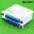 Fibra De Ramificación KELUSHI Dispositivo divisor Óptico 1x16 Caja de la Tarjeta de Inserción de la Casete PLC Divisor SC Conector de Fibra Óptica PLC