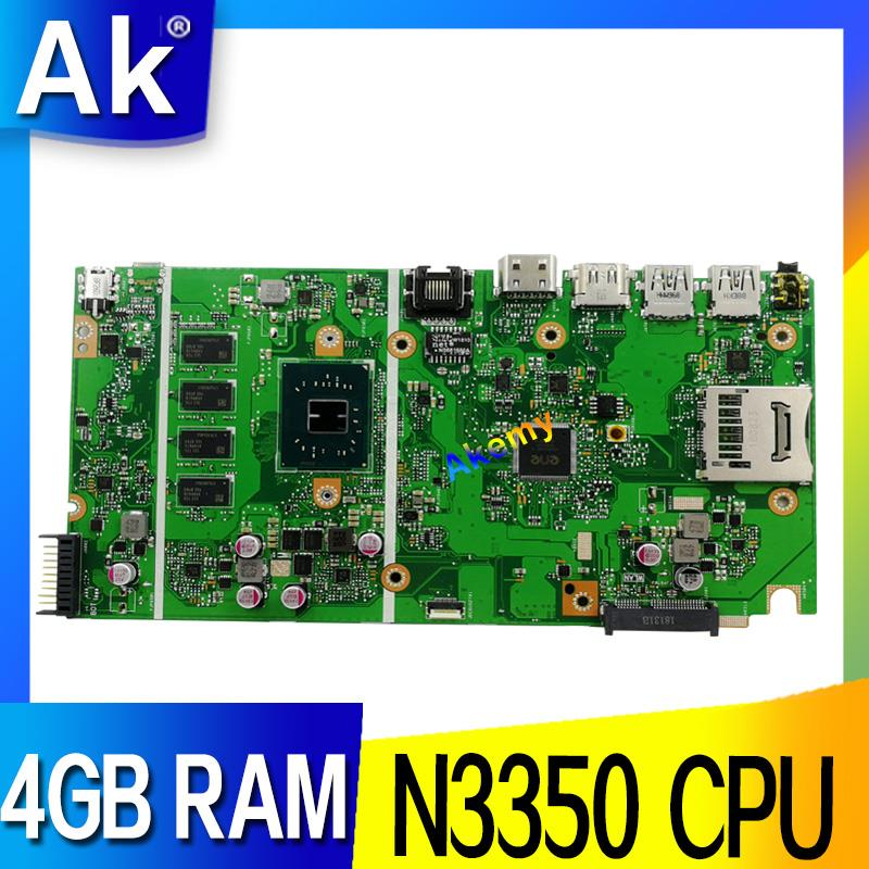 X541NA motherboard For ASUS X541NA laptop motherboard X541NA mainboard X541N motherboard test 100 OK N3350 CPU