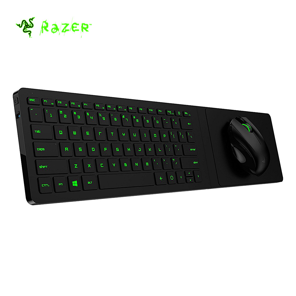 Razer Turret Gaming Lapboard 2.4G Wireless Bluetooth Mouse + Keyboard Kit with receiver For Living Room Gaming
