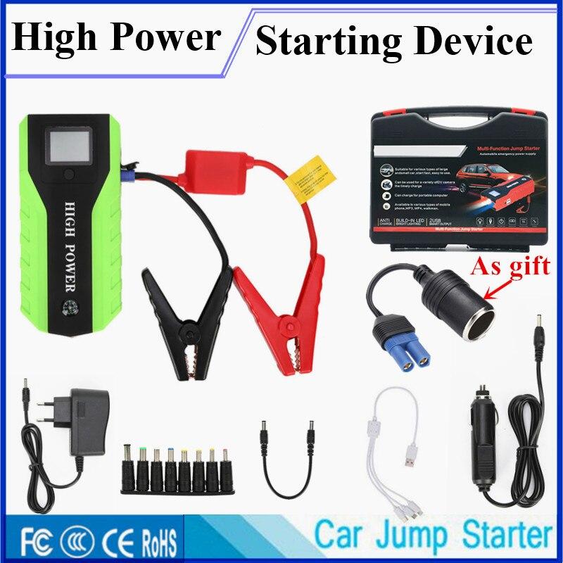 Super capacité saut démarreur 12V 600A Portable voiture démarrage dispositif chargeur de voiture pour voiture batterie Booster Auto démarreur batterie externe CE