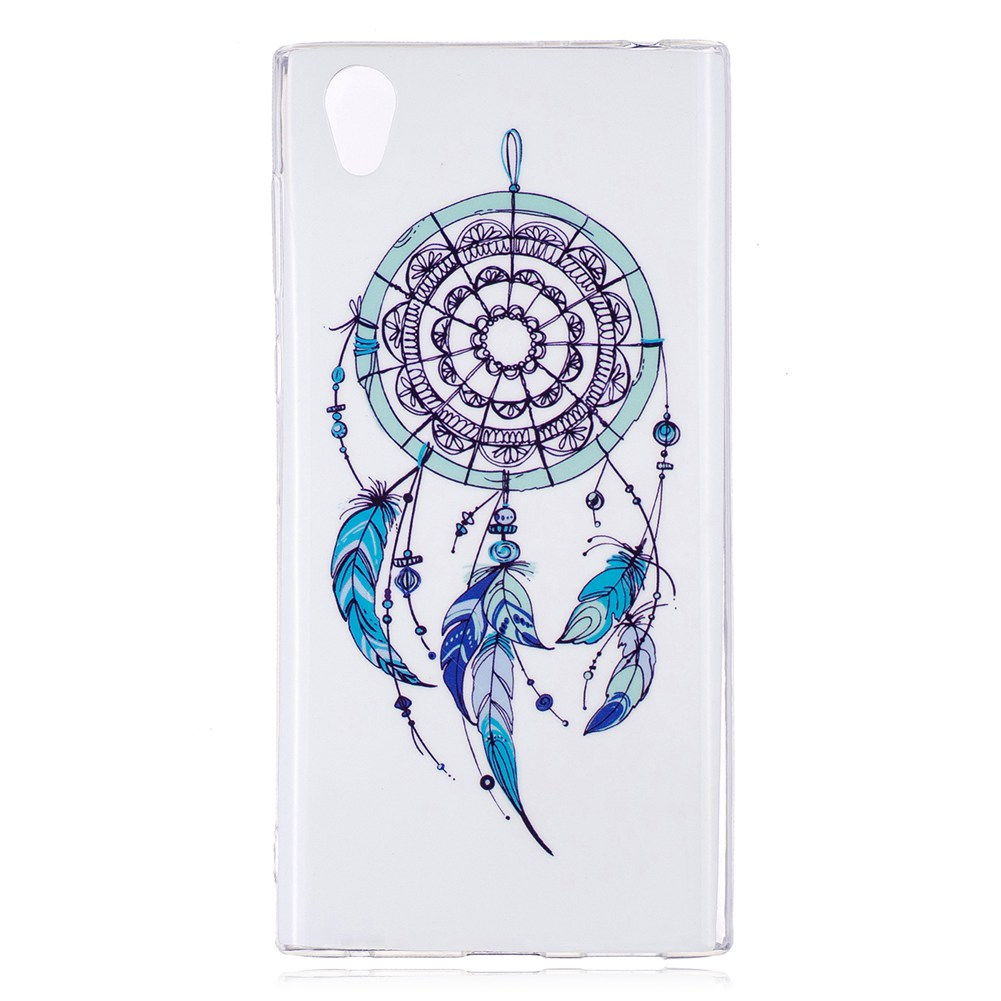 MuTouNiao Dreamcatcher Luminous TPU Soft Silicon Case Cover For Sony Xperia L1