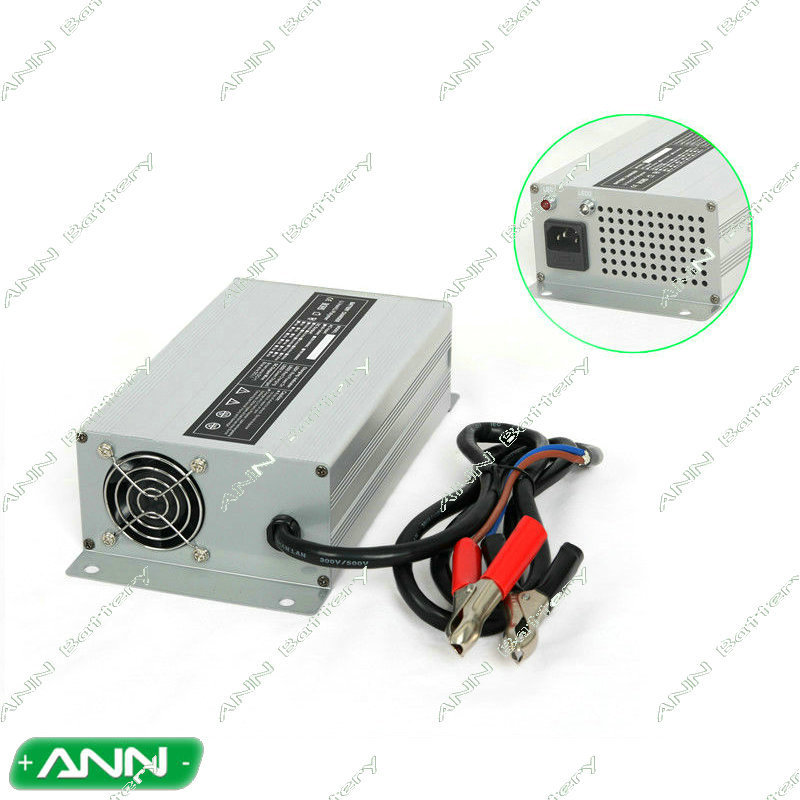 high power 72v 10a lithium battery lead acid battery lifepo4 battery charger with alligator clip tourist