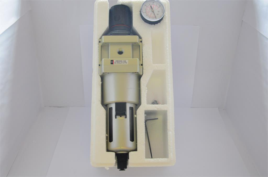 AW5000-10D 1''BSPT regulator filter SNS pneumatic component SMC type compressor air treatment copper drain smc type pneumatic air filter regulator aw3000 02