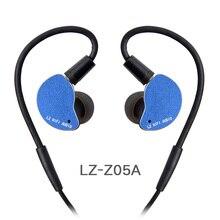 LZ Z05A で耳イヤホン駆動ハイファイ IEM 金属ヘッドセットインナーイヤー型取り外し可能なデタッチ MMCX ケーブル MMCX 着脱式