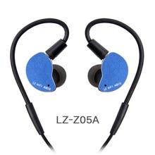 LZ Z05A In Ear Oortelefoon Dynamische Drive HIFI IEM Metalen Headset Oordopjes Met Afneembare Detach MMCX Kabel MMCX Afneembare