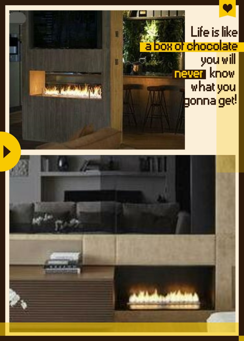 Inno Fire 48  Inch Silver Or Black Wifi Real Fire Intelligent Indoor Auto Eco Fireplace Bio Ethanol Burner