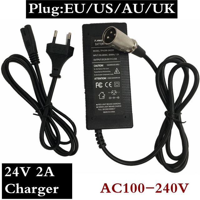 24V 2A scooter <font><b>electric</b></font> car <font><b>charger</b></font> universal sealed lead acid battery <font><b>charger</b></font> <font><b>electric</b></font> <font><b>golf</b></font> <font><b>cart</b></font>, ,<font><b>electric</b></font> bicycle, Scooter image