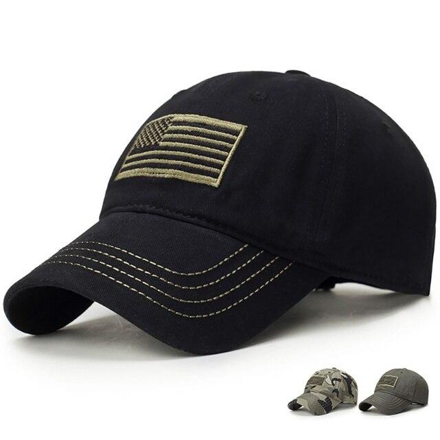 Gorra de béisbol para hombre bordado bandera Tactical sombreros para  hombres Gorras Beisbol para adultos sol b920f929745