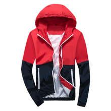 Basic Jacket Nice Fashion Thin Windbreaker Zipper Coat Casaco Feminino Hooded Brand Men's Women Casual Outwear Clothing
