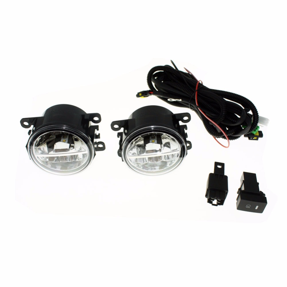 for nissan sentra 2007 2011 2012 h11 wiring harness sockets wire connector switch 2 fog lights drl front bumper led lamp [ 1000 x 1000 Pixel ]