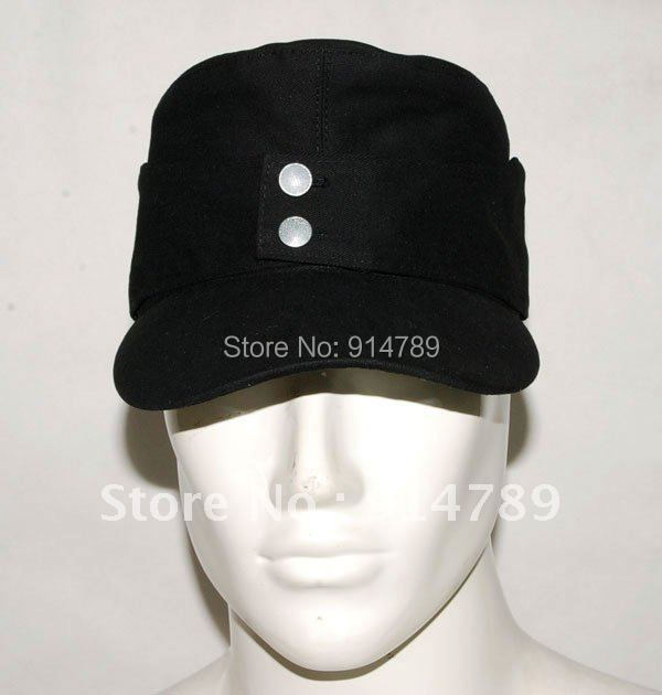 WWII GERMAN ELITE EM SUMMER PANZER M43 FIELD COTTON CAP SIZE M -32044