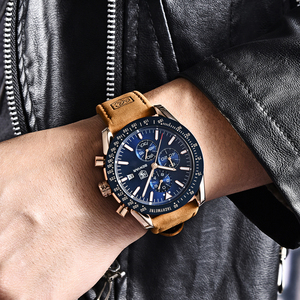 Image 2 - Benyar homens relógios marca de luxo pulseira silicone à prova dwaterproof água esporte quartzo cronógrafo militar relógio masculino relogio masculino