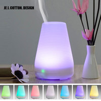 Home Ultrasonic Humidifier 7 Color Changing 100ml Air Humidifier Aroma Diffuser Essential Oil Mist Maker LED