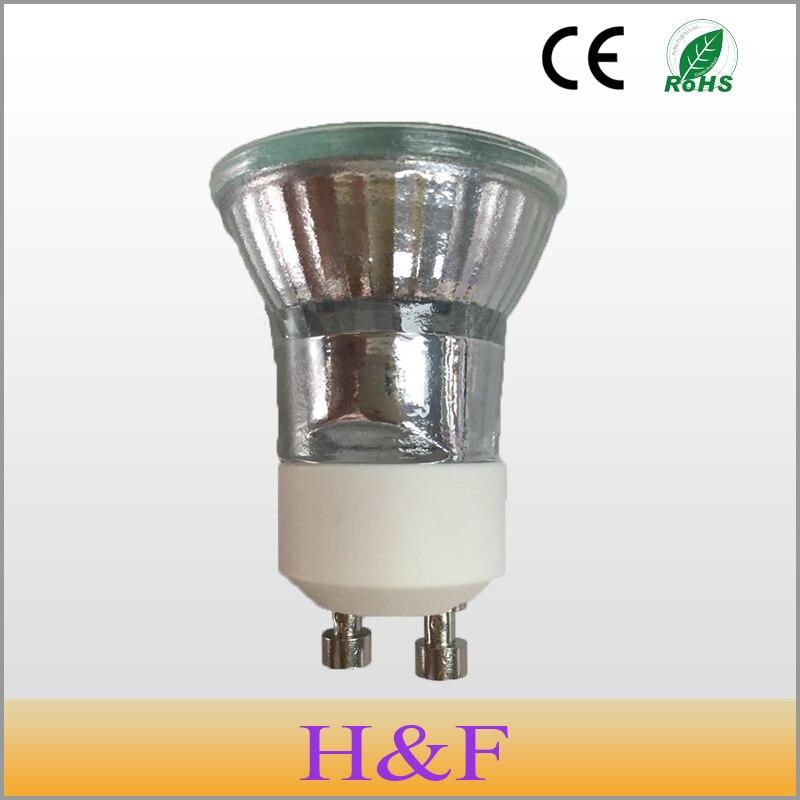 Bulbos de Halogênio honeyfly 3 pçs/lote dimmable 230 Temperatura de Cor : Branca Quente (2700-3500k)