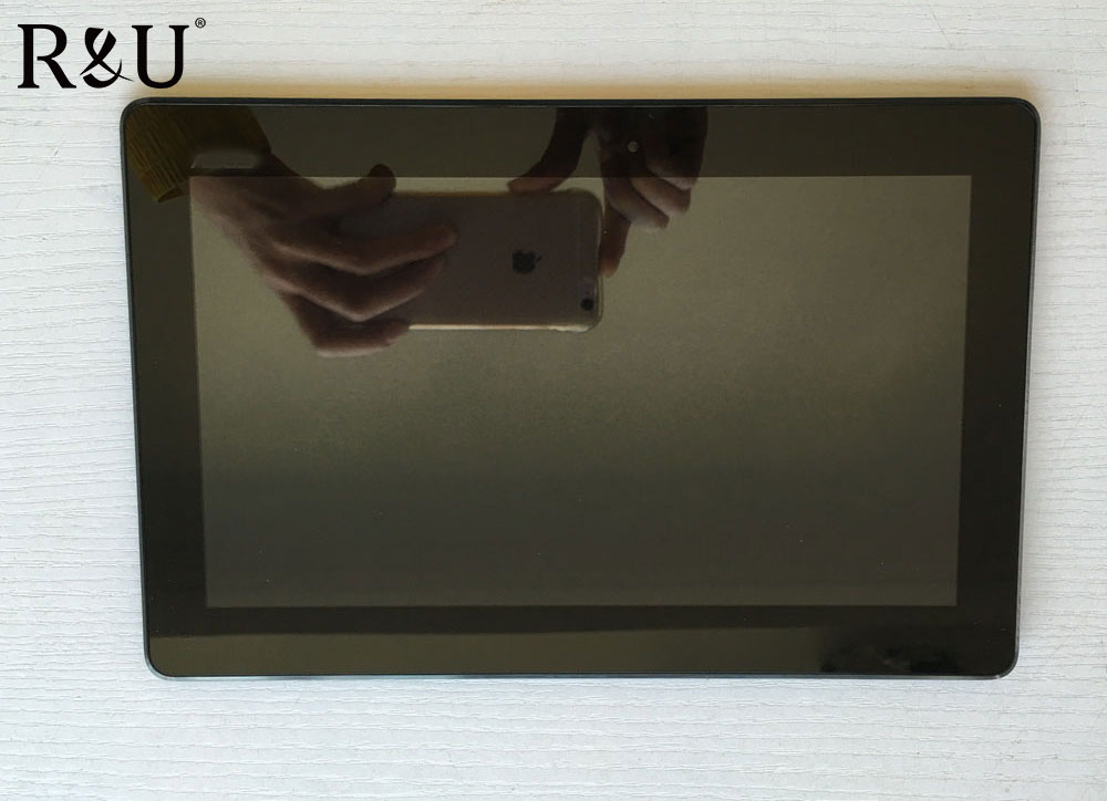 R&U LCD screen display & touch screen digitizer assembly with frame for ASUS T100 T100TA Yellow cable 5490N FPC-1 version