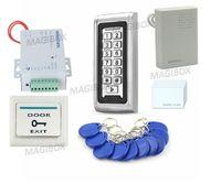 Kit de Entrada De Senha Do Teclado de Controle de Acesso Porta Leitor de Cartão RFID 125 kHz À Prova D' Água
