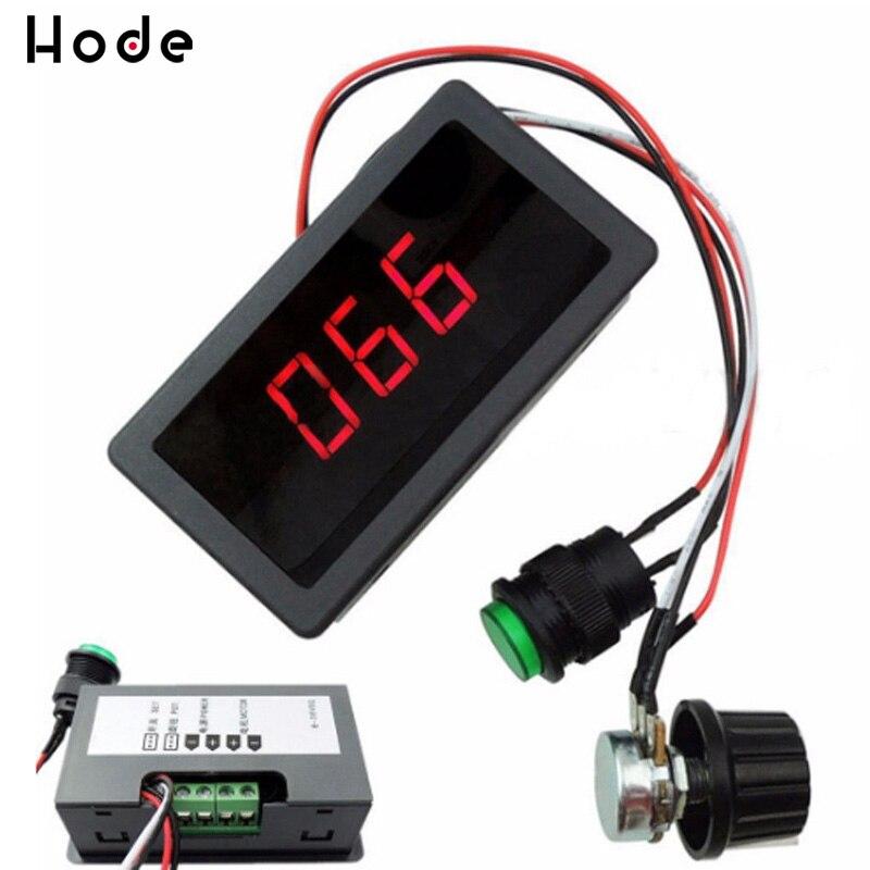 6V 12V 24V 5A PWM DC Motor Speed Controller CCM5D Digital Display LED Motor Controller Geschwindigkeit Regler