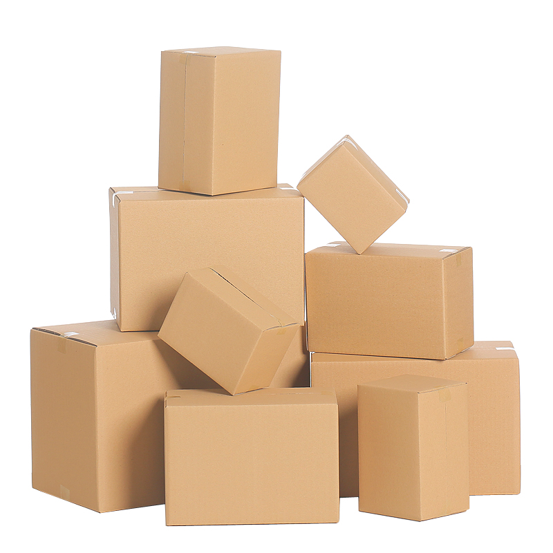 Xin Jia Yi Packaging Carton Box Manufacturer Cheap Corrugated Box 5 Layer Brown Moving Board Empty Shipping Small Boxes