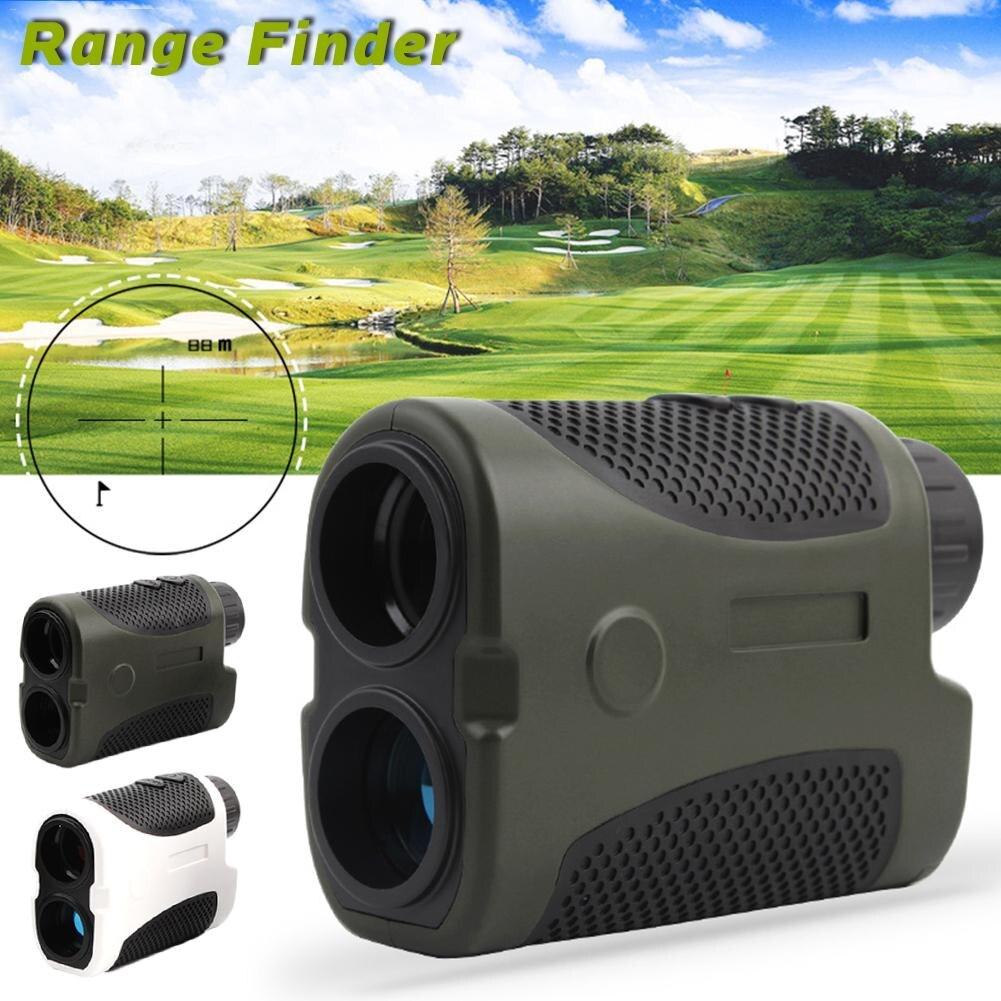 400 Meters Ranging Golf Laser Handheld Range Finder Slope Compensation Angle Scan Pinseeking Club Case Opt