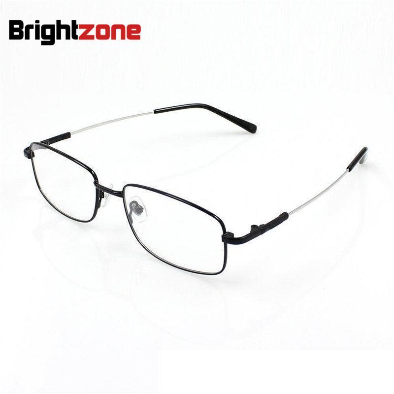ᗗTitanium Metal Alloy flexible full rim optical eye glasses frames ...