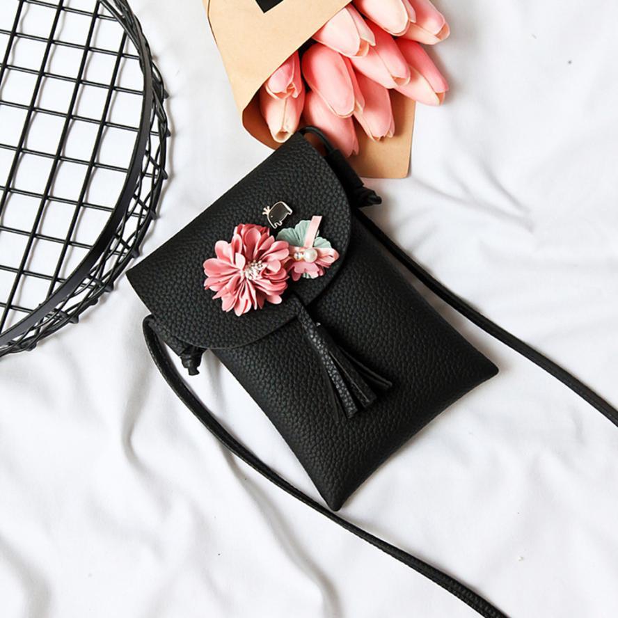 MOLAVE Shoulder Bags new high quality Applique Floral Mini Handbag Phone Messenger Purse ladies shoulder bags jan24