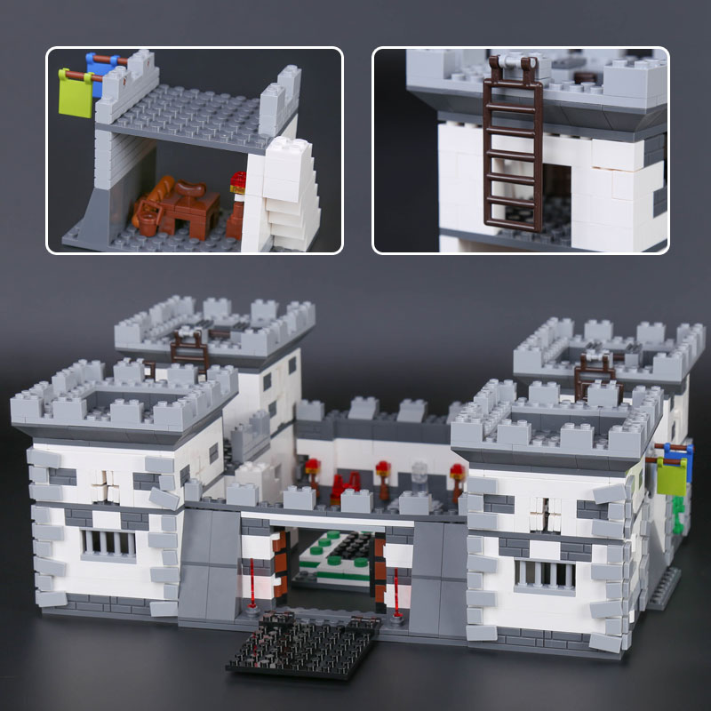 XINGBAO 09005 1627Pcs Blocks Series The Castle of Holy War Set Children Educational Building Blocks Bricks Boy Toys Model Gifts day of the holy trinity