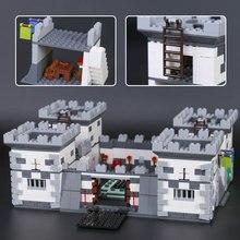 XINGBAO 09005 1627Pcs Blocks Series The Castle of Holy War Set Children Educational Building Blocks Bricks Boy Toys Model Gifts