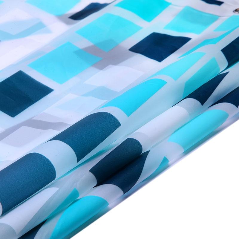 Elegante rasterstijl Waterdichte douchegordijnen Warme ondoorzichtige - Huishouden - Foto 4