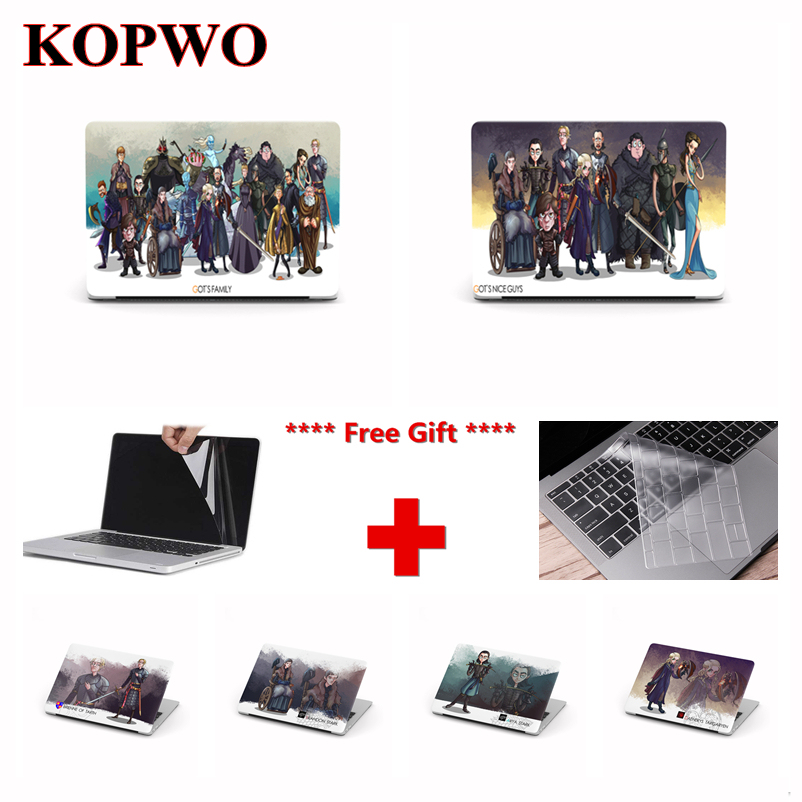 KOPWO Game of Thrones Series Laptop Protective Case for font b Apple b font font b