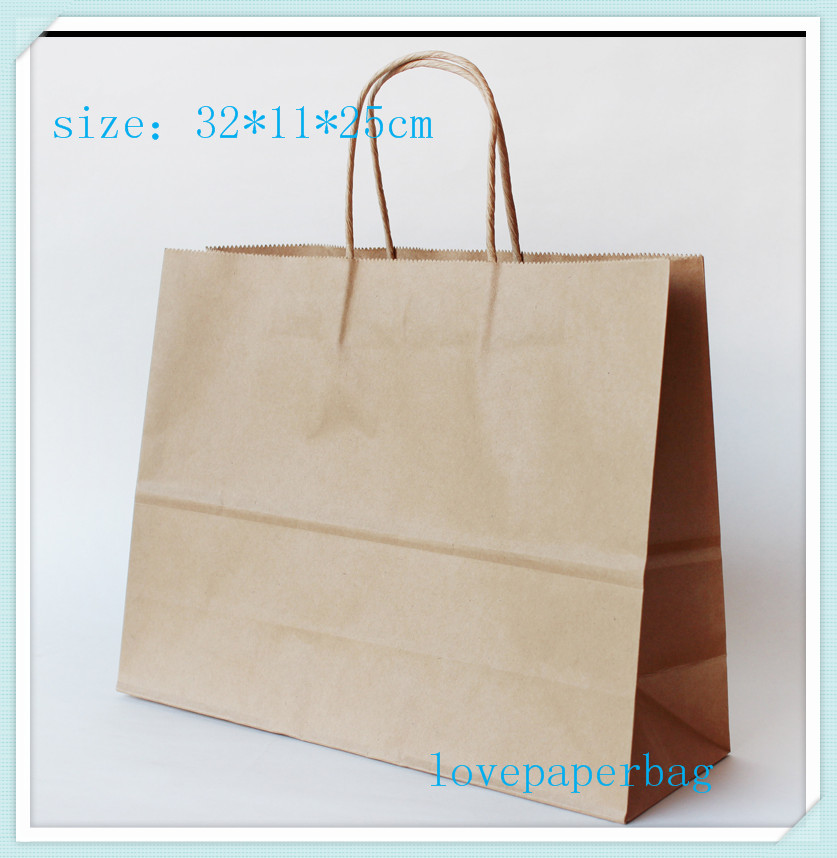Aliexpress.com : Buy 32*11*25cm large paper shopping bags in size ...