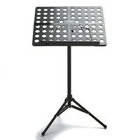 Foldable Bass Guitar Music Stand Aluminium Music Holder with Case Cover For Musical Stringed Instruments Parts Accessories
