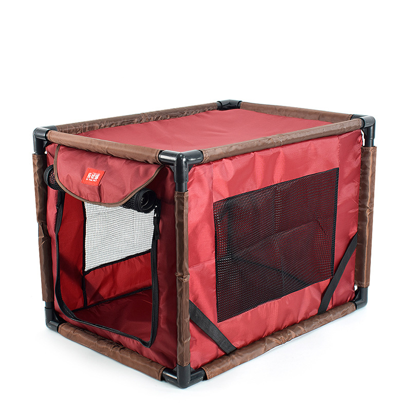Pet Car Dog Transport Box Cage Dog Carrying For Small and medium dogs transportin Folding Pet tent Cage Dog Cat Tent Playpen in Dog Carriers from Home Garden