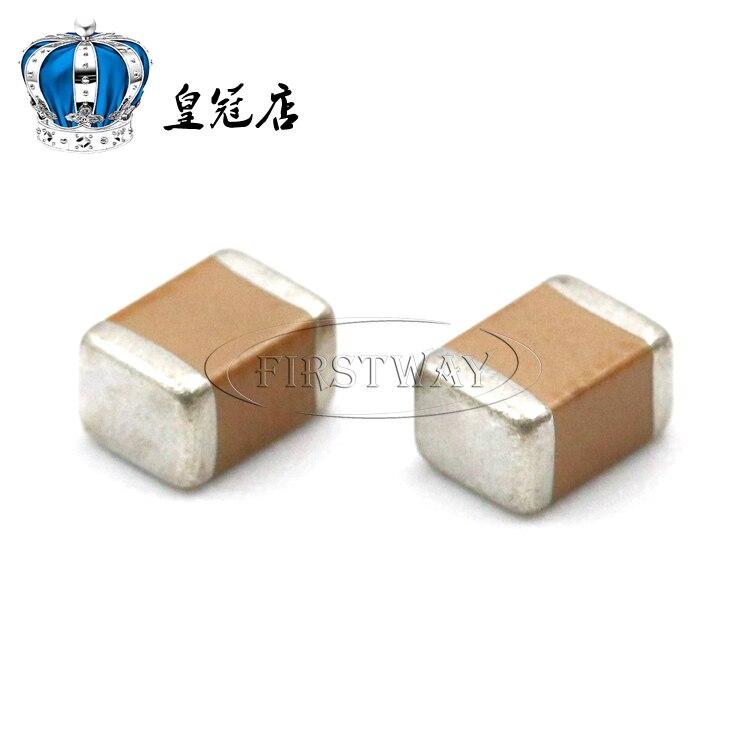 10 pièces/lot condensateur céramique SMD 1812 474K 470NF 0.47UF 400V 450V 500V MLCC condensateur haute tension