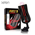 Pocket Pussy Sex Toys for Men Leten Dual Engine Artificial Vagina Male Masturbator Super Strong Vibrator hands-free Sex Machine