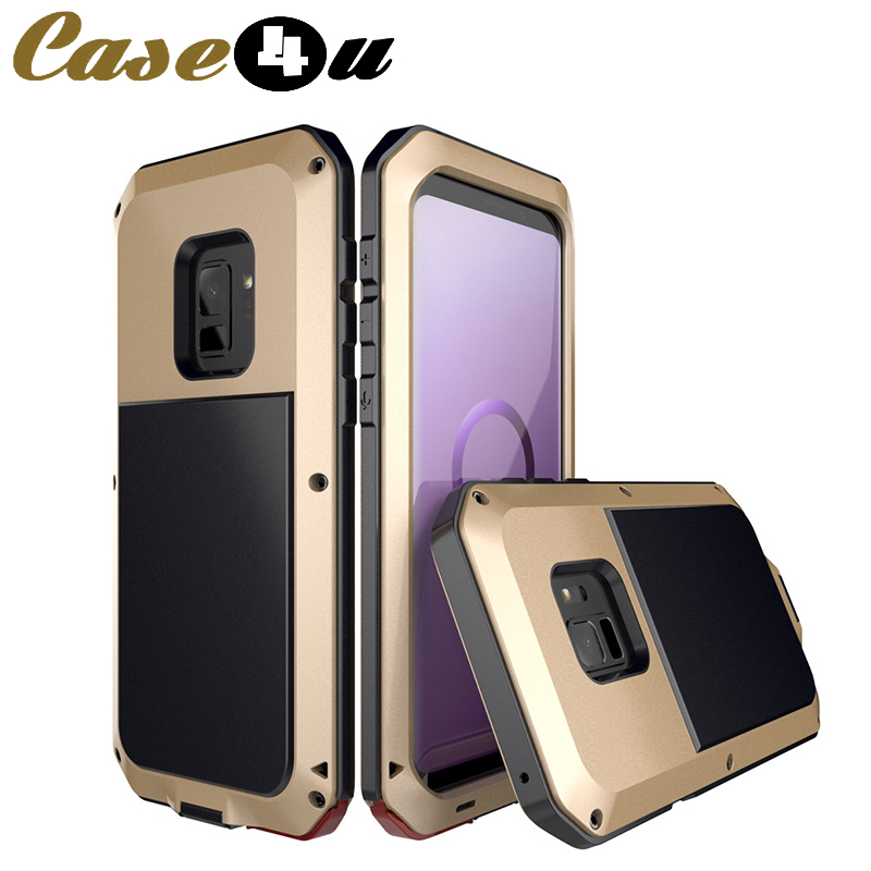 Heavy Duty Protection Doom Armor Metal Aluminum Phone <font><b>Case</b></font> For <font><b>Samsung</b></font> Galaxy S8 S9 S10 Plus Lite S10E Note 8 9 <font><b>360</b></font> Full Cover image