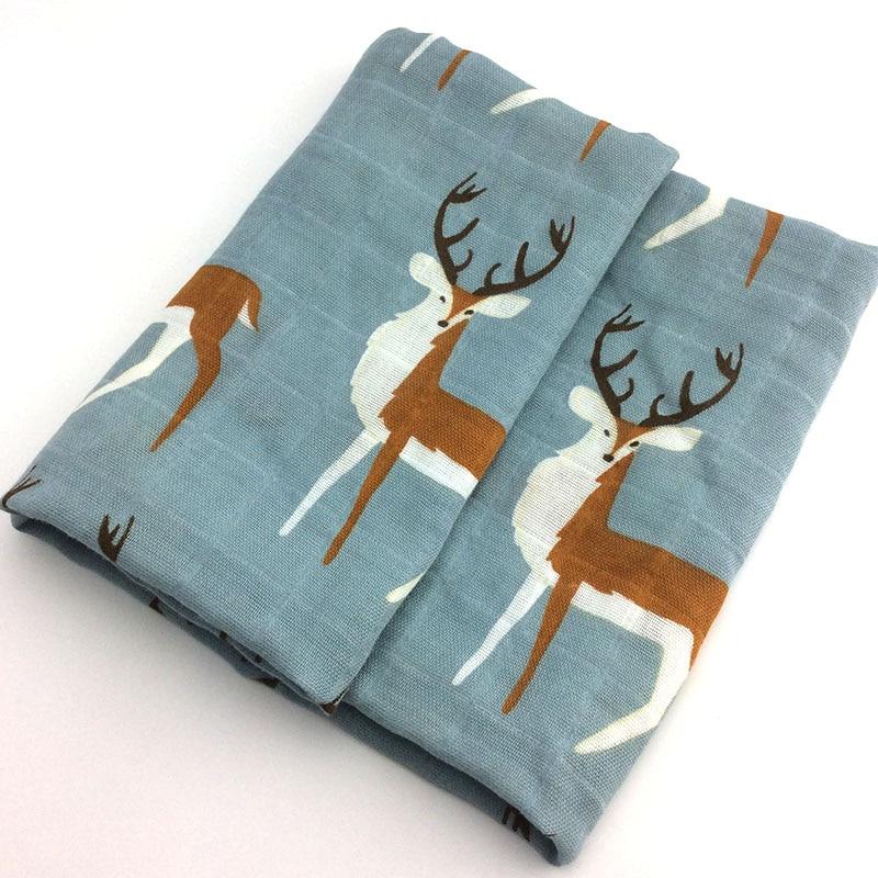 Новинка; хлопковое детское одеяло для новорожденных; мягкое детское одеяло из органического хлопка; муслиновое Пеленальное Одеяло для кормления; тканевое полотенце; шарф; детские вещи - Цвет: 06