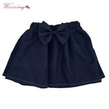 10 видов стилей мини-юбка для малышей Милая пышная однотонная плиссированная юбка с бантом для маленьких девочек юбки для новорожденных девочек от 0 до 6 месяцев