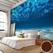 Custom Photo Wall Paper 3D Deep Sea Scenery