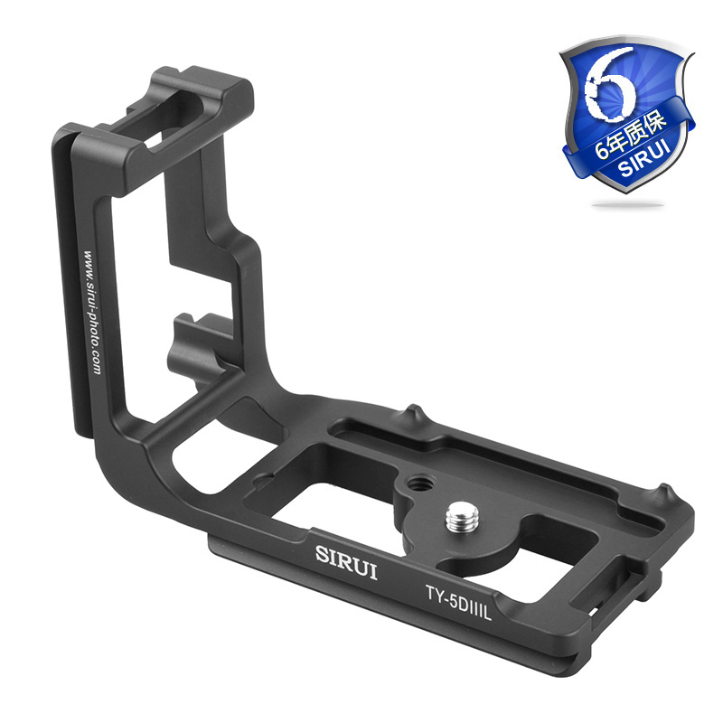 Sirui Special L-type Quick Release Plate Askar Svertical Shoot Smallrig For Canon Nikon Camera Accessories TY5D3L  5D3 5DIII bigbang t o p special edition doom dada photobook 80pages making release date 2013 12 13 kpop
