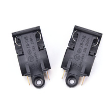 High Quality 2PCS Black 13A Switch Electric Kettle Thermostat Switch Steam Medium Kitchen Parts Accessories