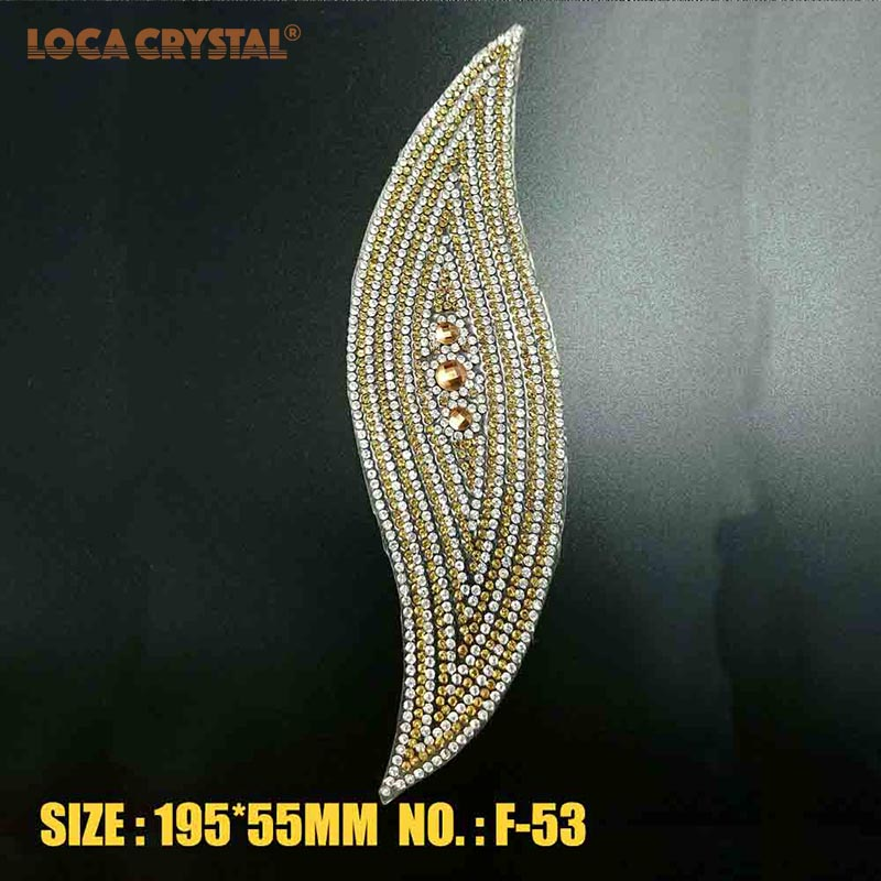 Detail Feedback Questions about Shinny Rhinestone Patch Iron on Crystal  Stass Applique For T shirt Bags Decoration LOCACRYSTAL on Aliexpress.com  60f50359b621