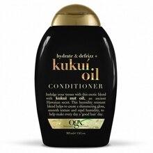 Кондиционер OGX  для увлажнения и гладкости волос с маслом гавайского ореха (кукуи) 385 мл