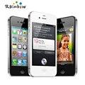 """Оригинальный Apple iPhone 4S 16 ГБ 3 Г WI-FI GPS 8MP 1080 P 3.5 """"IPS 960x640px Сенсорный Экран Открыл Мобильный телефон"""