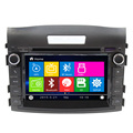 Car Dvd Player Equipment For CR V Support Bluetooth Steering Wheel Control Sat Nav  Cars Rearview Camera Multi-language Canbus