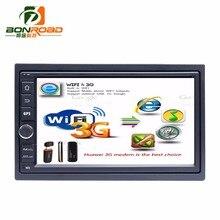 "7 ""2Din 1024*600 Android 6.0 Samochód Z Kranu PC Tablet 2 din Uniwersalny dla Nissan GPS Navi Radio Odtwarzacz Audio Stereo (No CD NIE AV-OUT)"