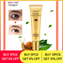 OMY LADY IMAGES Snail Eye Essence Beauty Skin Care Eye cream faced instantly Anti Aging Anti Wrinkle Remove Dark Circle(China)