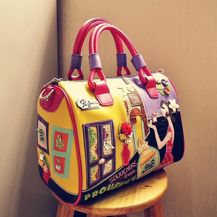 Women Handbag Sac Braccialini Main Tote Shoulder-Bag Feminina Marca Bolsa Di Borse Super-Quality