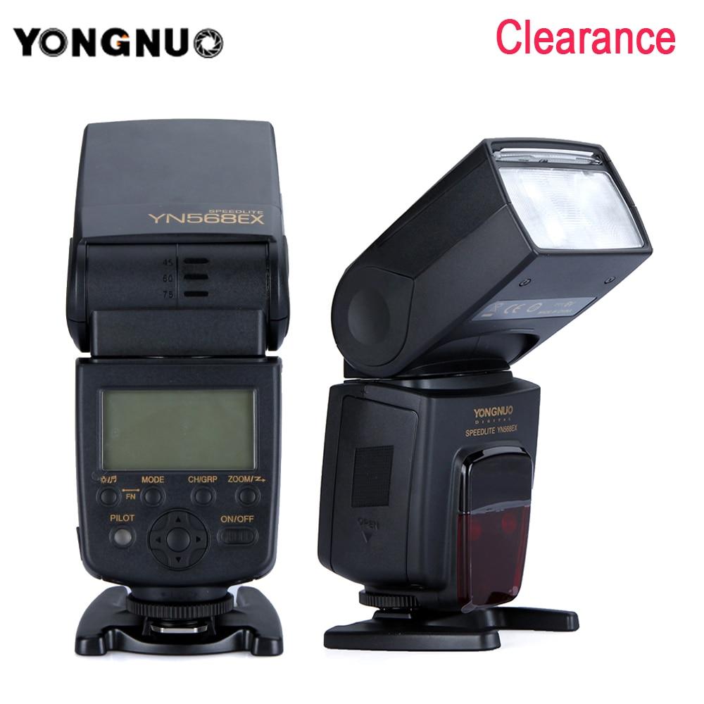 Hot Sale Yongnuo Yn568ex Wireless Ttl Flash Speedlite For Nikon Yn 560iii Speedlight D3300 D3100 D5200 Dslr Cameras 568ex