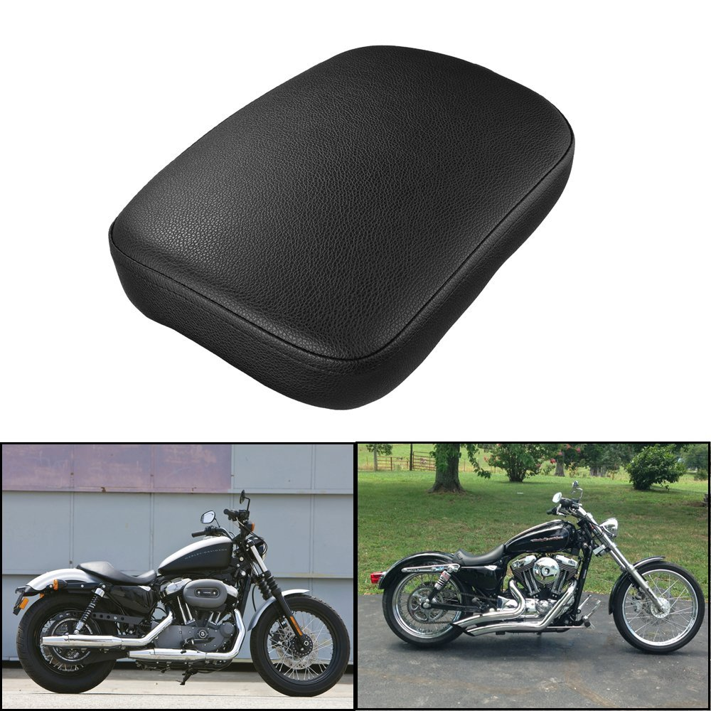 Motorcycle Rear Passenger Cushion 6 Suction Pillion Pad Suction Seat For Harley Dyna Sportster Softail Touring XL 883 1200 DY183